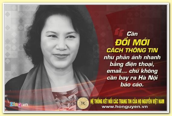 9 phat ngon an tuong cua ba Nguyen Thi Kim Ngan hinh anh 1