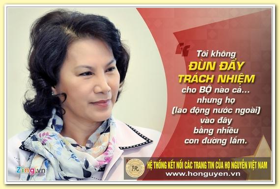 9 phat ngon an tuong cua ba Nguyen Thi Kim Ngan hinh anh 3