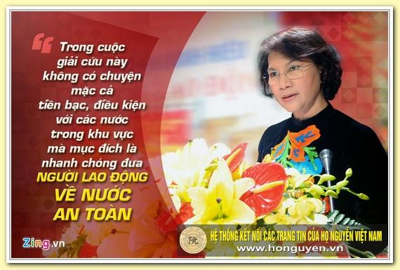 9 phat ngon an tuong cua ba Nguyen Thi Kim Ngan hinh anh 4