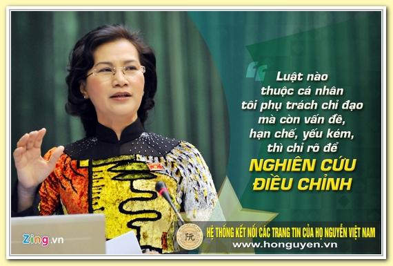 9 phat ngon an tuong cua ba Nguyen Thi Kim Ngan hinh anh 7